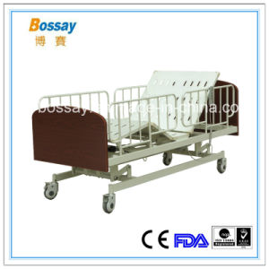 Electric Nursing Home Bed Three Functions Care Bed pictures & photos