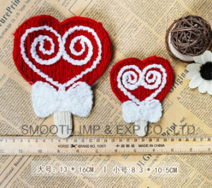 Fashion Polyester for Wholesale Lovely Santa Claus Christmas Set Patch pictures & photos
