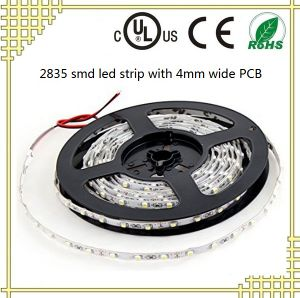 4mm Wide LED Strip with 2835 SMD Chip pictures & photos