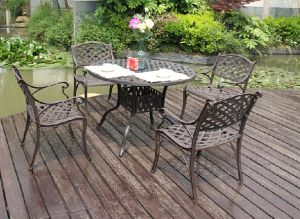 Popular Garden Dining Sets Furniture pictures & photos