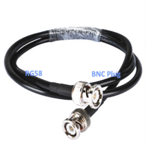 Rg58 Coax Jumper Cable / Pigtail with BNC Connector pictures & photos