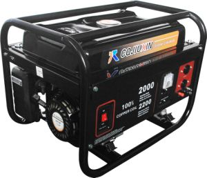 Jx3900b-4 2.8kw High Quality Gasoline Generator with a. C Single Phase, 220V pictures & photos