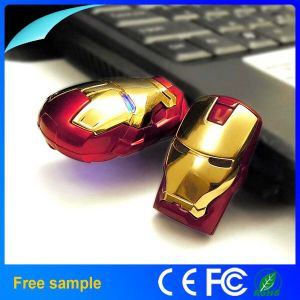100% Real Full Capacity Metal Iron Man USB Flash Drive 16GB 32GB pictures & photos
