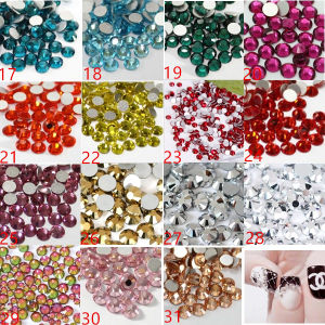 High Quality 53+ Colors Decoration Use Nail Crystal Stones Nail Art Rhinestone pictures & photos