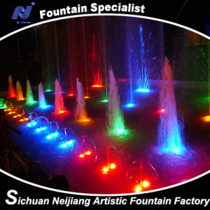 Musical Water Fountain with Lighting Effects pictures & photos