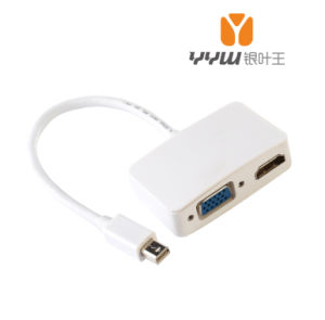 Mini Displayport to HDMI /VGA 2 in 1 Adapter Cable, Ymt1002wp