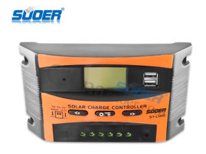 Suoer 12V 24V 10A Solar Panel Charger Controller (ST-C1210) pictures & photos