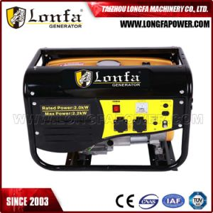 6.5HP Rated 2kw Max 2.2kw Portable Electric Gasoline Generator Set pictures & photos