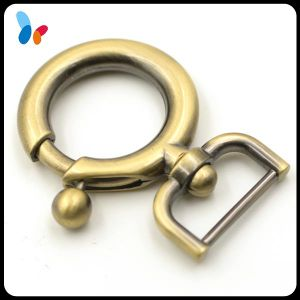 Brush Anti-Brass Zinc Alloy Metal Snap Swivel Hook pictures & photos
