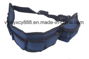 Men Tool Waist Electrician Bag Saddlebag Workbag Toolkit (CY3371) pictures & photos