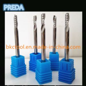 Polished Single Flute End Mill for Wood pictures & photos