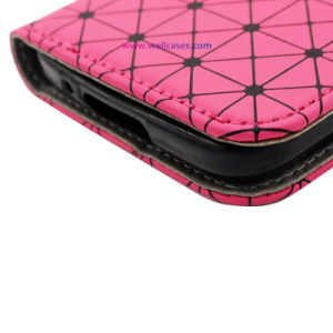 Mobile/Cell Phone Accessories Issey Miyake Leather Protective Case/Cover with Card Holder pictures & photos