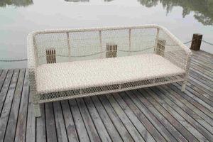 UV-Resistace Outdoor Wicker Furniture Modular Rattan Sofa