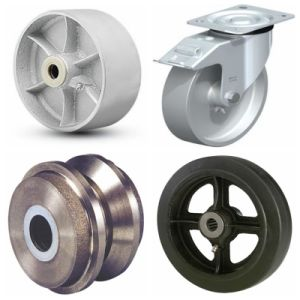 Customized Cast Iron Train Wheels with Sand Casting pictures & photos
