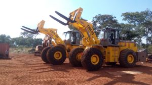 Block Handling Forklift Loader Quarry Equipment Loaders pictures & photos