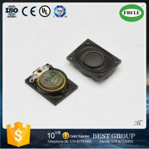 Fbs20s Cheaper 8ohm 3W Cloth Cone Square Mini Mylar Speaker (FBELE) pictures & photos