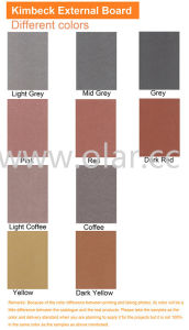 Fiber Cement Board --CE Approved High Density Color-Through External Cladding pictures & photos