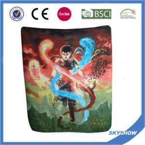 2016 Hot Sale Promotion Polar Fleece Custom Print Polyester Blanket pictures & photos