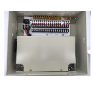 12V 18channels Boxed Power Supply Unit for CCTV Camers (12VDC20A18PN) pictures & photos