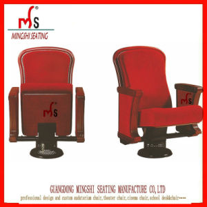 Luxury Classic Single Standing Foot Auditorium Chair