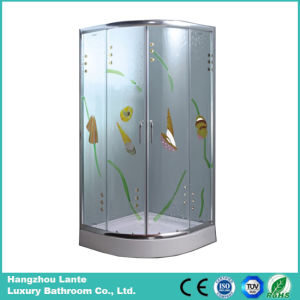 European Hot Sale Shower Units Room with Printed Glass (LTS-825D) pictures & photos