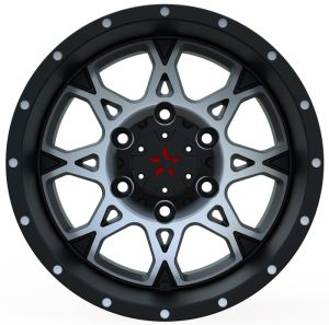 4X4 Alloy Wheels with black machine face UFO-895 pictures & photos