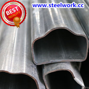 ERW Galvanized/ Annealing Welded Special Section Steel Tube (T-10) pictures & photos