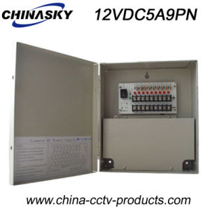 12VDC 5AMP 9channels CCTV Power Distribution Box with Ce (12VDC5A9PN) pictures & photos