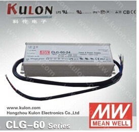 Meanwell Clg-60 12V 15V 24V 36V 48V High Efficiency Pfc Waterproof LED Driver