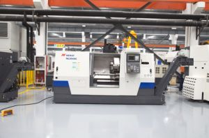 Horizontal CNC Lathe Machine (NL504SC) pictures & photos