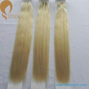 "12""-28"" Virgin Remy Human Hair Weft Blonde 613#"