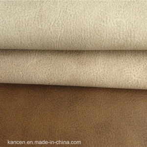 Synthetic Sofa Leather of PU (KC-W055)