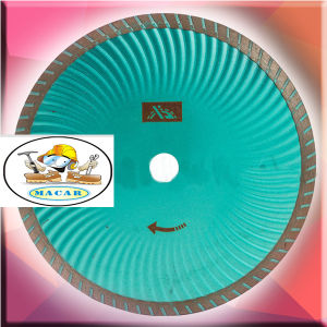 Sintered Strong Diamond Turbo Saw Blade pictures & photos