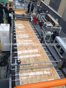Plastic PVC (Artificial imitation) Marble Board/ Sheet Extrusion and Making Machine pictures & photos