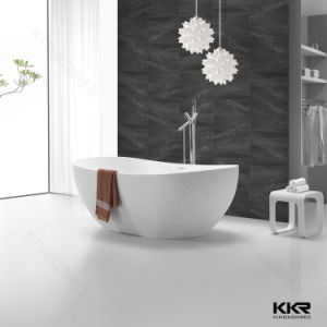 Kingkonree Composite Stone Solid Surface Freestanding Bath Tub pictures & photos