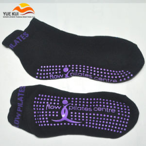 Custom Brand OEM Non Slip Anti Sole Grip Yoga Sock