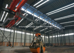 High Quality Light Steel Structure Prefabricated Workshop pictures & photos