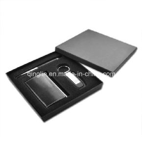 Promotional Business Card Case and Key Holder Gift Set (QL-TZ-0001) pictures & photos