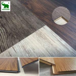 Plastic Vinyl Composite Floor WPC Laminated Click System Flooring
