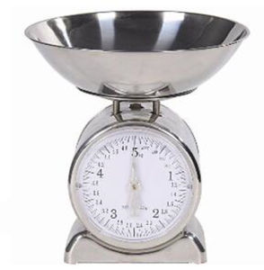 5kg/20g Round Outlook Design Mechanical Food Kitchen Scale pictures & photos