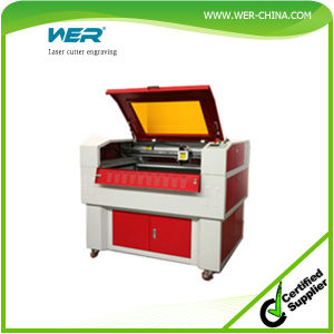 Wer Hot Selling Laser Cutter Engraving Machine for Acrylic pictures & photos