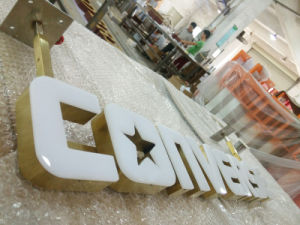 Retail Chain Shop Business Exterior Interior Illuminated LED Channel Letters Sign pictures & photos