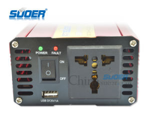 Suoer DC 72V to AC 220V 1000W Frequency Car Power Inverter (SUB-1000H) pictures & photos