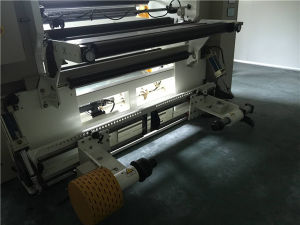 Used High Speed PLC Control Plastic Film Slitting and Rewinding Machine pictures & photos