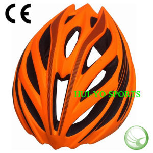 Orange Bike Helmet, Summer Helmet, Cool Bicycle Helmet