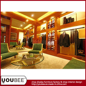 Fashion Men Garment Shopfitting, Menswear Shop Decoration, Store Display Fixtures pictures & photos