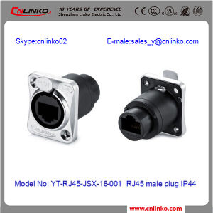CE Approved RJ45 8 Pin Connector/ RJ45 Connector CAT6/ Dual RJ45 Female Connector pictures & photos