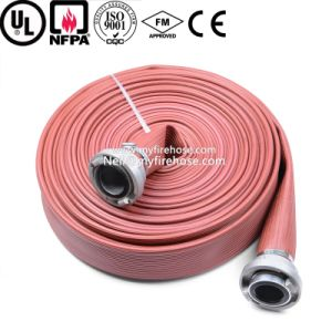 1 Inch Canvas Fire Sprinkler Flexible Hose PVC Durable Pipe pictures & photos