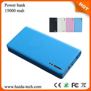 Power Bank 15000mAh with CE, RoHS, FCC Certificate (HD-PB201)