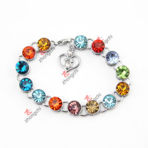 Fashion Girls Alloy Bracelets Chains with Crystal for Love Gifts (CBC50805)
